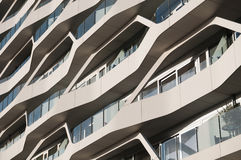 Abstract architecture. Image of a modern building Stock Images