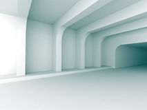 Abstract Architecture Indoor Design Background. 3d Render Illustration Stock Image