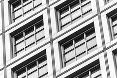 Abstract architecture of a modern building Royalty Free Stock Photos