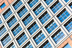 Abstract architecture of a modern building Stock Photography