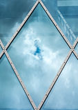 Abstract architecture of a modern building Royalty Free Stock Images