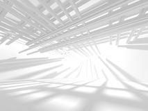 Abstract Architecture Modern Design Background. 3d Render illustration Royalty Free Stock Photo