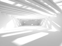 Abstract Architecture Modern Design Background. 3d Render illustration Stock Images