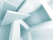 Abstract Architecture Modern Design Background. 3d Render Illustration Royalty Free Stock Photography