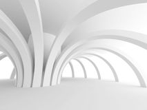 Abstract Architecture Modern Design Background. 3d Render illustration Royalty Free Illustration