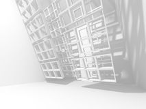 Abstract Architecture Modern Design Background Stock Photo