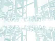 Abstract Architecture Modern Design Background Royalty Free Stock Image