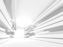 Abstract Architecture Modern Design Background. 3d Render illustration stock illustration