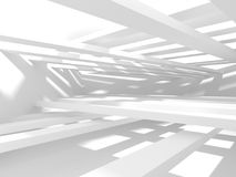 Abstract Architecture Modern Design Background. 3d Render illustration Stock Image