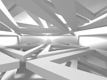Abstract Architecture Modern Design Background. 3d Render illustration Stock Photos