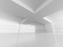 Abstract Architecture Modern Empty Room Interior Background. 3d Render Illustration Royalty Free Stock Photos
