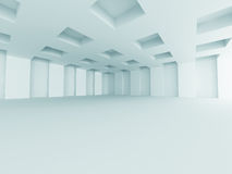 Abstract Architecture Modern Empty Room Interior Background Stock Photography