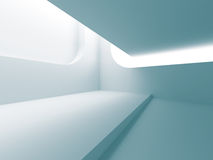 Abstract Architecture Modern Empty Room Interior Background. 3d Render Illustration Stock Photography