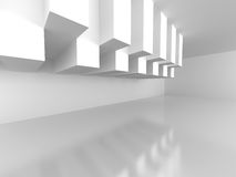 Abstract Architecture Modern Empty Room Interior Background. 3d Render Illustration Stock Image