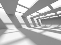 Abstract Architecture Modern Empty Room Interior Background. 3d Render Illustration Stock Photo