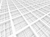 Abstract Architecture Square Structure Background Stock Photo