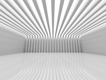 Abstract Architecture. Stripe Pattern Interior Design. 3d Render Illutrastion Royalty Free Stock Photos