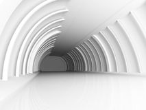 Abstract Architecture Tunnel Corridor Background. 3d Render Illustration vector illustration