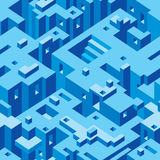 Abstract Architecture Vector. Abstract Architecture Seamless Texture Pattern stock illustration