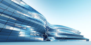 Abstract architecture wall Royalty Free Stock Photos