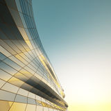 Abstract architecture wall. Abstract architecture of the wall, the image of a business building Stock Photo