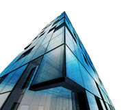 Abstract architecture white isolated. Building design and 3d model my own Stock Images