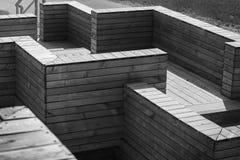 Abstract architectuurfragment Stock Afbeelding