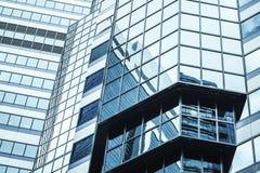 Abstract architectuurfragment, modern bureau Royalty-vrije Stock Afbeeldingen
