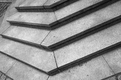 Abstract architectuurfragment Traphoek Royalty-vrije Stock Afbeeldingen