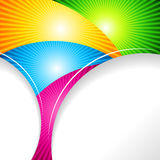 Abstract ardent background. Vector. Abstract ardent colourful background. Vector Royalty Free Stock Photos