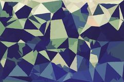 Abstract Army concept low poly bokeh wallpaper Stock Photo