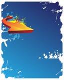 abstract arrow background Стоковые Фото