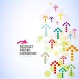 Abstract arrow background Stock Photos