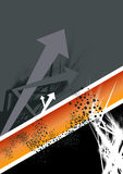 Abstract arrow background Royalty Free Stock Image