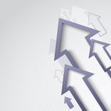 Abstract arrow background eps10 Stock Photos