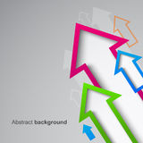 Abstract arrow background eps10 Royalty Free Stock Photography