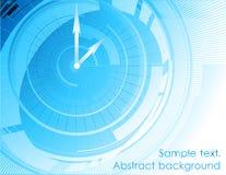 Abstract arrow blue background. Vector Royalty Free Stock Photos