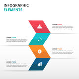 Abstract arrow business Infographics elements, presentation template flat design vector illustration for web design. Set Royalty Free Stock Photo