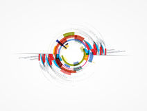 Free Abstract Arrow Computer Technology Business Solution Royalty Free Stock Photos - 32008548