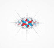 Abstract arrow computer technology business solution Stock Image