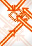 Abstract arrow creative design Stock Photography