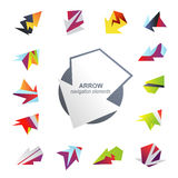 Abstract arrow elements Stock Image
