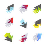 Abstract arrow elements Royalty Free Stock Photo