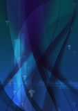 Abstract arrow graphic background - Dark blue texture - Technology Abstract background vector illustration