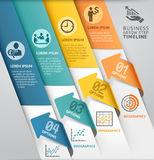 Abstract arrow infographics template. Stock Photos