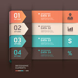 Abstract arrow infographics template. Royalty Free Stock Photography