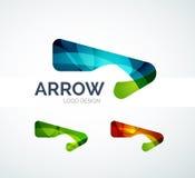 Abstract arrow logo design Royalty Free Stock Image