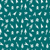 Abstract arrow of seamless pattern. Vector template, abstract background vector illustration