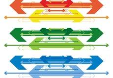 Abstract arrows Stock Photos