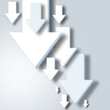 Abstract arrows background Stock Photography